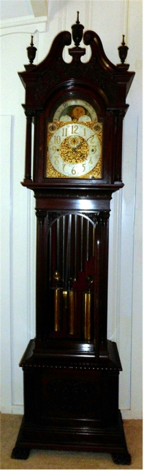 Winterhalder-Hofmeier tall case clock - ca. 1880-1900