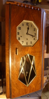 Hamburg American Co. WM chime clock for French market - 1925